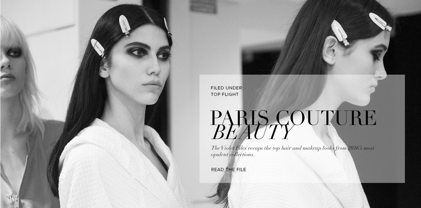 Paris couture beauty tvf landing page hero