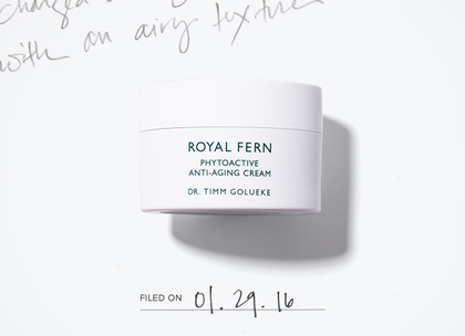 Royal fern phytoactive antiaging cream promo