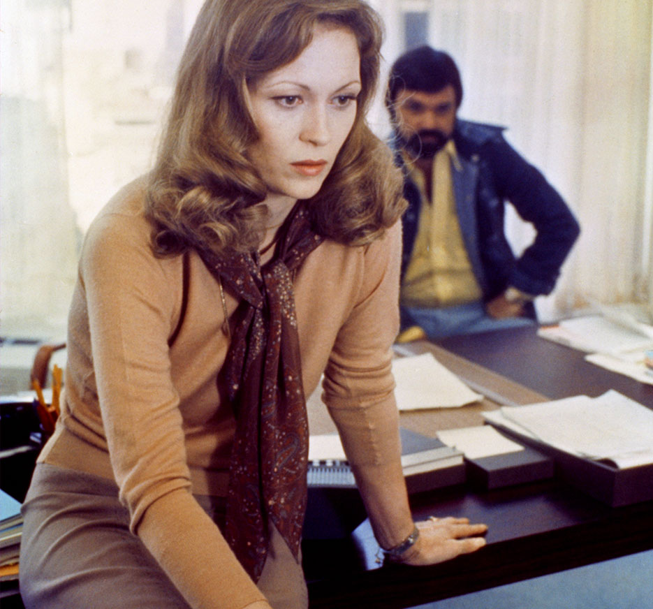 Faye Dunaway in The Network | Filed under: Secrets to Being Boss on #VioletGrey The Industry's Beauty Edit