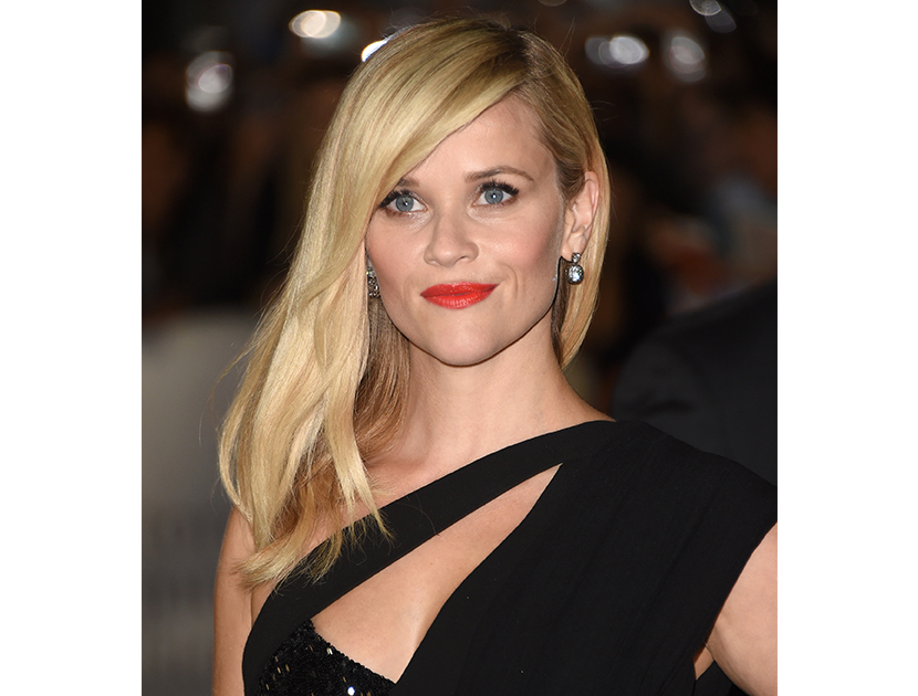 Reese witherspoon red carpet beauty violet grey for Adir abergel salon