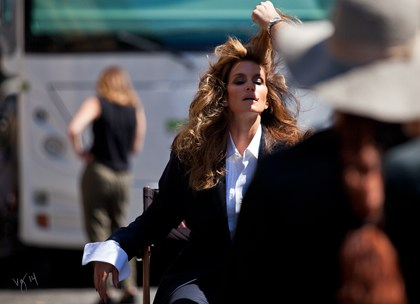 Behind the scenes cindy crawford promo