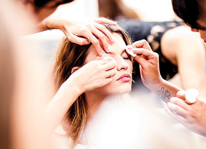 Fashion week beauty tips and tricks promo