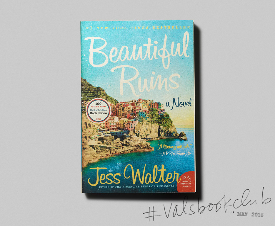 Beautiful Ruins Book Cover : Val s book club beautiful ruins the violet files