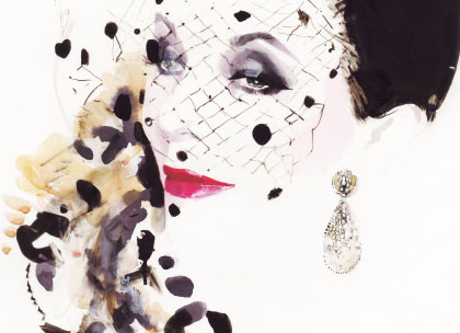 David downton portraits of the worlds most stylish women promo