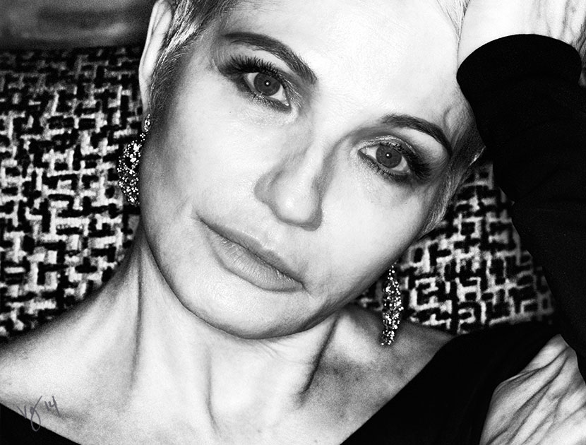 ELLEN BARKIN: the actress on life, love, and beauty  |  #VioletGrey, The Industry's Beauty Edit