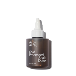 ACT+ACRE Cold Processed Scalp Detox - 3.4 oz | @violetgrey