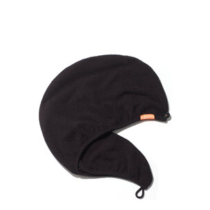 AQUIS Rapid Dry Hair Turban - Black | @violetgrey