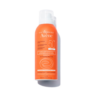EAU THERMALE AVèNE Ultra-Light Hydrating Sunscreen Lotion Spray SPF 50 for Body - 5.07 oz | @violetgrey