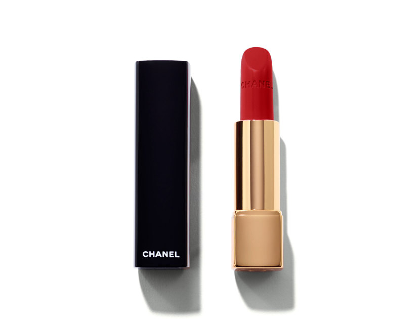 CHANEL Rouge Allure Intense Long-Wear Lip Colour - 104 Passion | @violetgrey