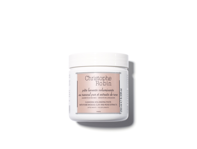 CHRISTOPHE ROBIN Cleansing Volumizing Paste With Pure Rassoul And Rose Extracts | @violetgrey