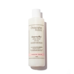 CHRISTOPHE ROBIN Delicate Volumizing Shampoo With Rose Extracts | @violetgrey