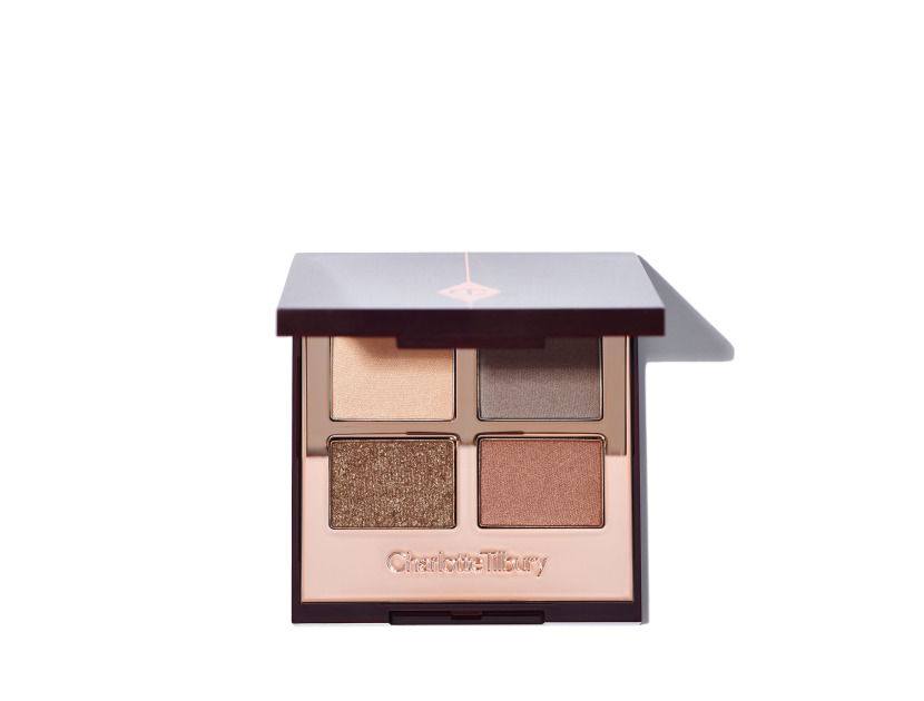 CHARLOTTE TILBURY Luxury Eyeshadow Palette - The Golden Goddess | @violetgrey