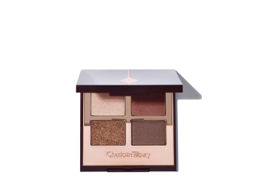 Charlotte Tilbury Luxury Eyeshadow Palette in The Dolce Vita | Shop now on @violetgrey https://www.violetgrey.com/product/luxury-palette/CHT-EQAD52DX5R22