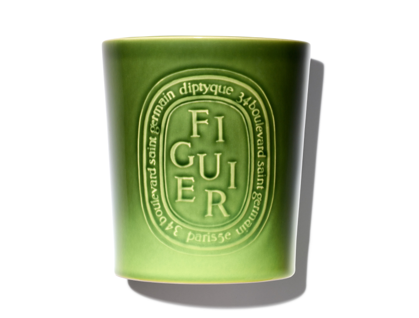 Diptyque Figuier Indoor/Outdoor Candle in 51.3 oz | Shop now on @violetgrey https://www.violetgrey.com/product/figuier-indoor-slash-outdoor-candle/DIP-FI15001