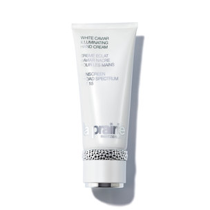 LA PRAIRIE White Caviar Illuminating Hand Cream Sunscreen Broad Spectrum SPF 15 - 3.4 oz | @violetgrey