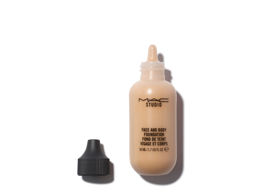 m a c face and body foundation c3 violet grey