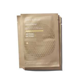 PATCHOLOGY Smartmud No Mess Mud Masques: Detox Sheet Masks (4 Pack) | @violetgrey