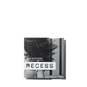 RECESS Charcoal Hair Blotting Papers | @violetgrey