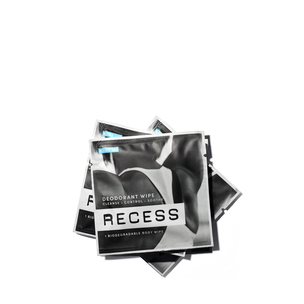 RECESS Deodorant Wipes | @violetgrey