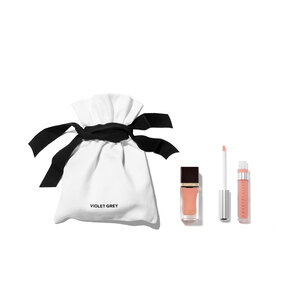 VIOLET GREY GIFTS The Blush Nude Matching Lips & Tips Set | @violetgrey