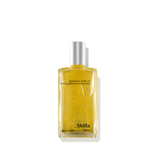 SHIFFA Pregnancy Body Oil | @violetgrey
