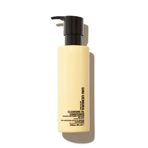 SHU UEMURA ART OF HAIR Cleansing Oil Conditioner Radiance Softening Perfector | @violetgrey