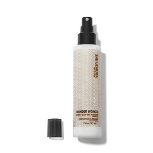 SHU UEMURA ART OF HAIR Wonder Worker Air Dry/Blow Dry Multi-Tasking Primer | @violetgrey