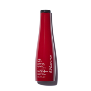 SHU UEMURA ART OF HAIR Color Lustre Sulfate-Free Brilliant Glaze Shampoo | @violetgrey