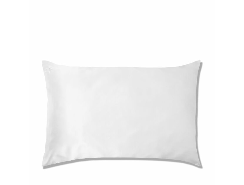 SLIP Silk Queen Pillowcase - White | @violetgrey