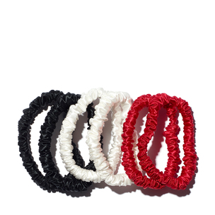 SLIP Skinny Scrunchies - 6 Pack - Exclusive Multi | @violetgrey