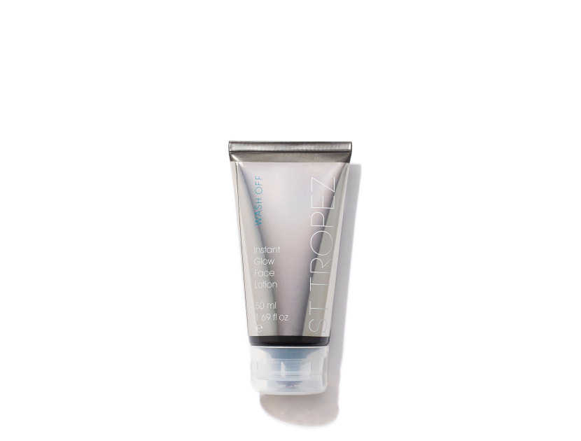 ST. TROPEZ One Night Only Instant Glow Face Lotion | @violetgrey