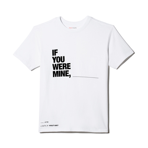 "X KARLA FOR VIOLET GREY The ""If You Were Mine"" Crew - Small 