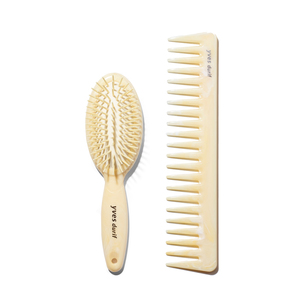 YVES DURIF Petite Brush & Comb Set | @violetgrey