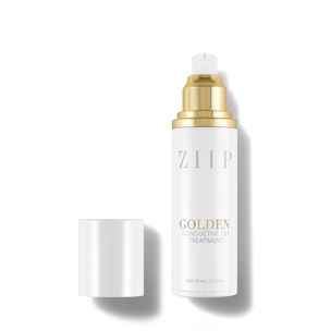 ZIIP BEAUTY Golden Conductive Gel Treatment | @violetgrey