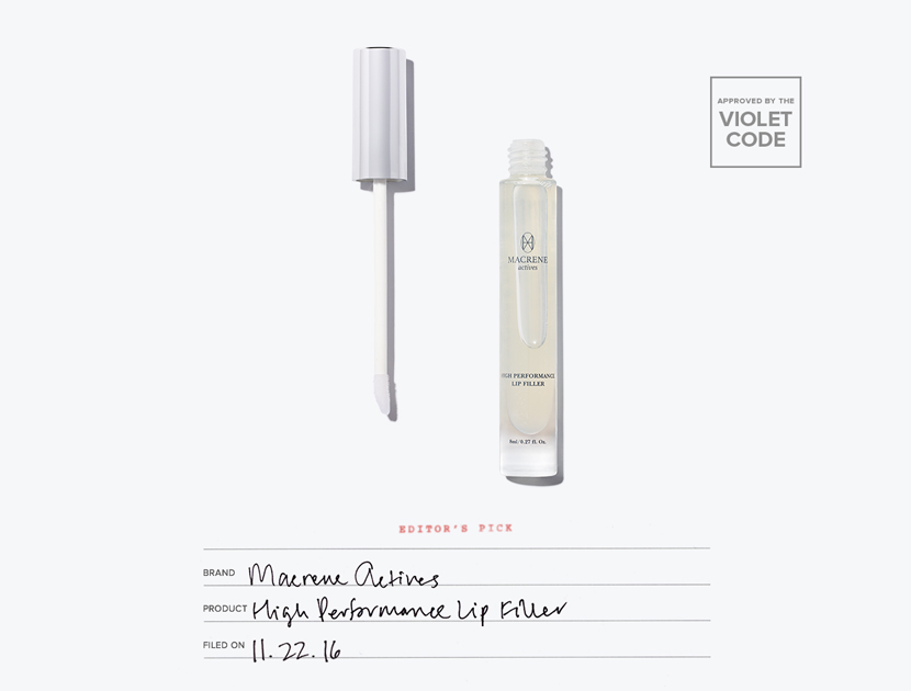 Dr. Macrene High Performance Anti-Aging and Filler Lip Treatment  | The Violet Files