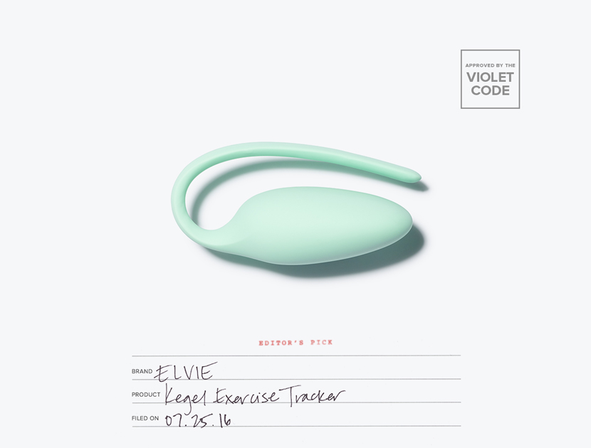 Elvie Kegel Exercise Tracker | The Violet Files