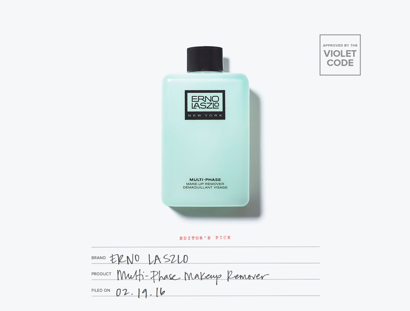 Erno Laszlo Multiphase Makeup Remover | The Violet Files