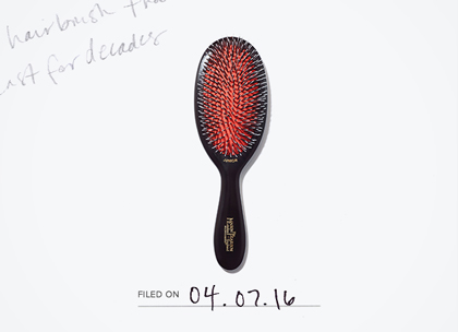 Mason pearson junior mixture nylon and boar bristle hair brush promo