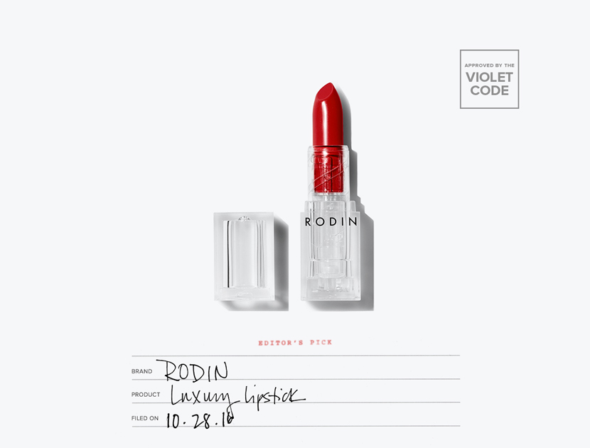 Rodin Luxury Lipstick  | The Violet Files