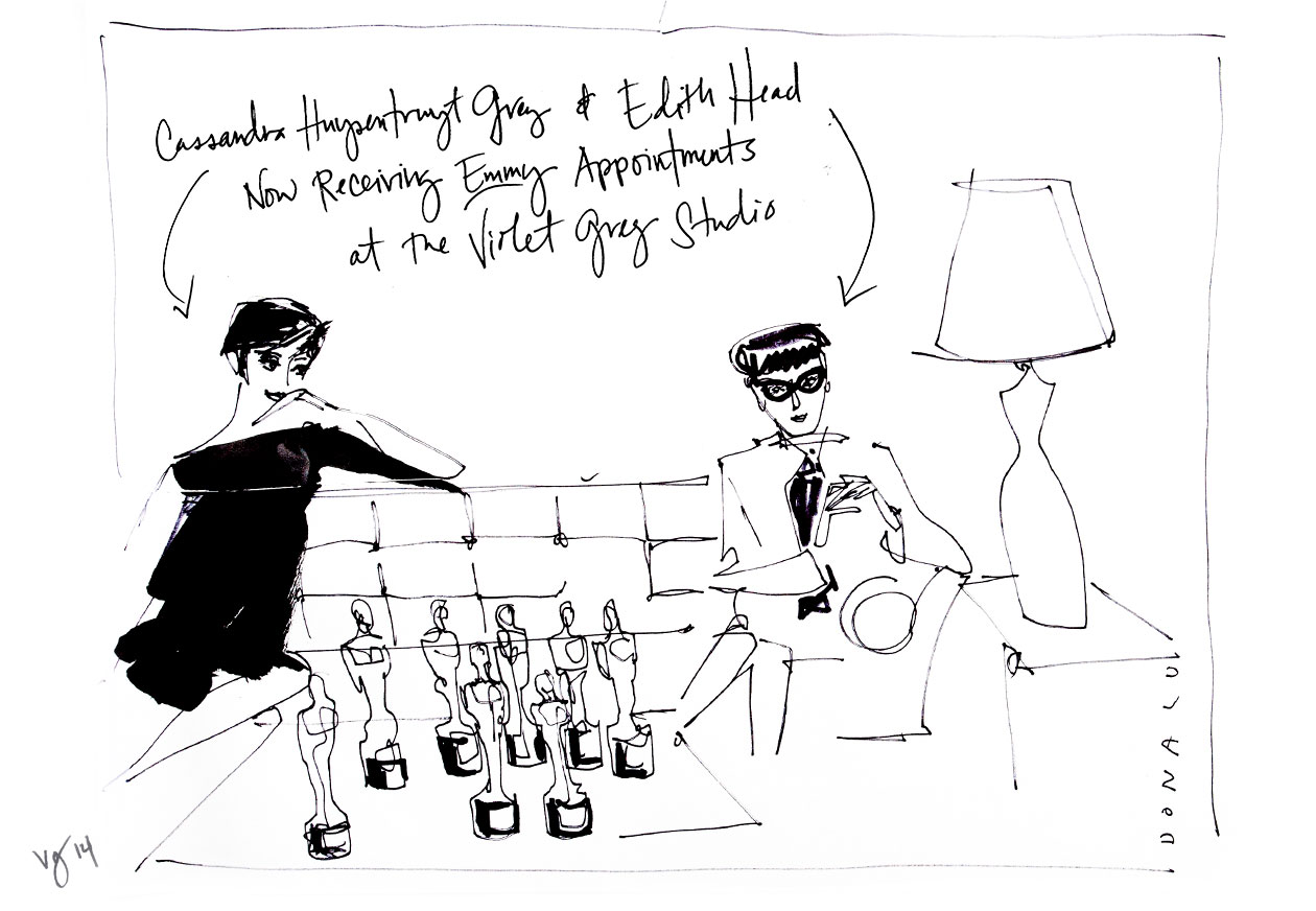 Artist In Residence: @DonaldDrawbertson  |  #VioletGrey, The Industry's Beauty Edit