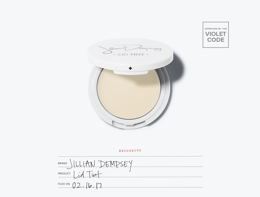 Jillian Dempsey Lid Tint in Dew | The Violet Files