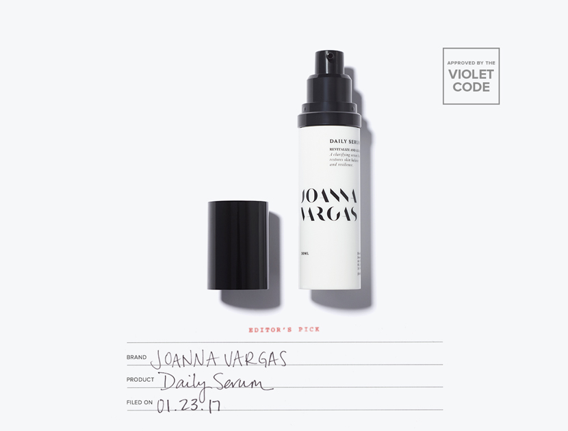 Joanna Vargas Daily Serum | The Violet Files