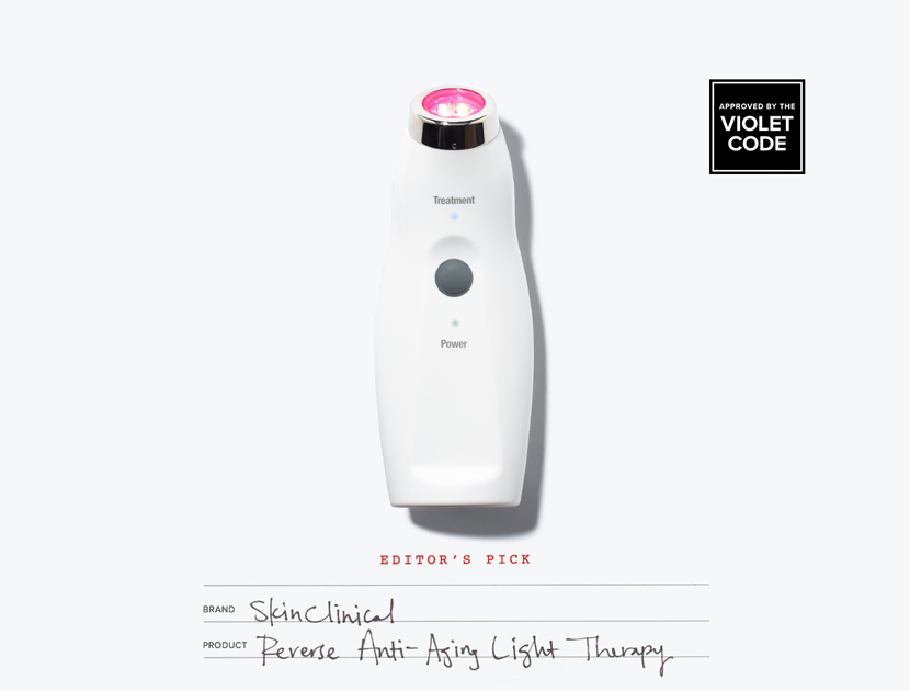 SKINCLINICAL REVERSE ANTI-AGING LIGHT THERAPY | THE VIOLET FILES