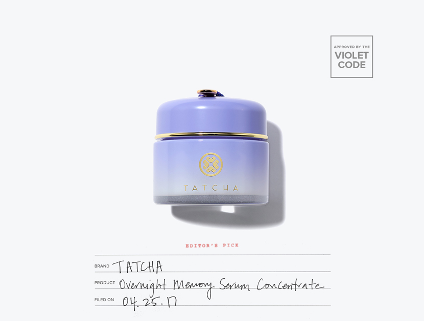 Tatcha Overnight Memory Serum Concentrate | The Violet Files