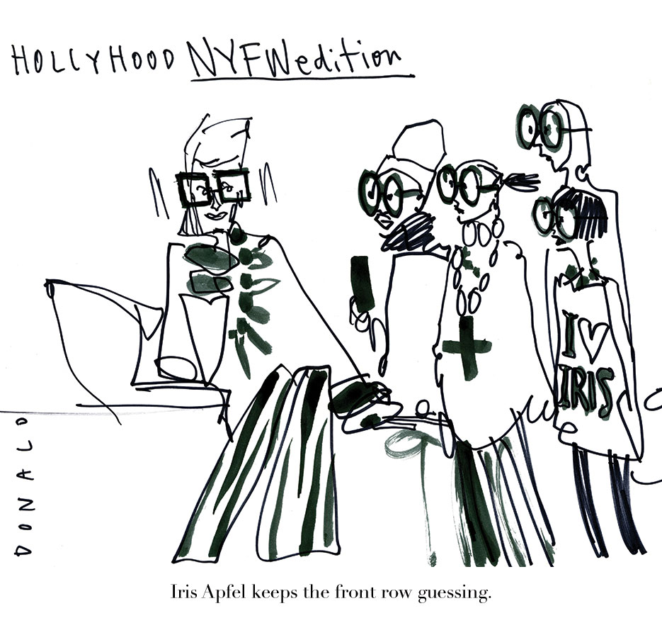 Hollyhood by @Drawbertson | THE VIOLET FILES | @violetgrey
