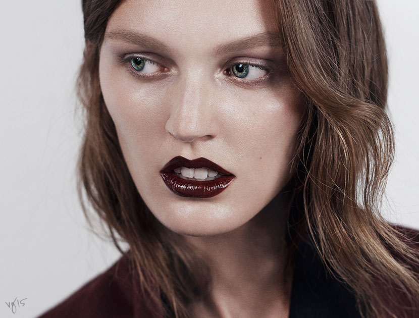 Original Look: The Dark Lip by Violette | French Girl Beauty | The Violet Files