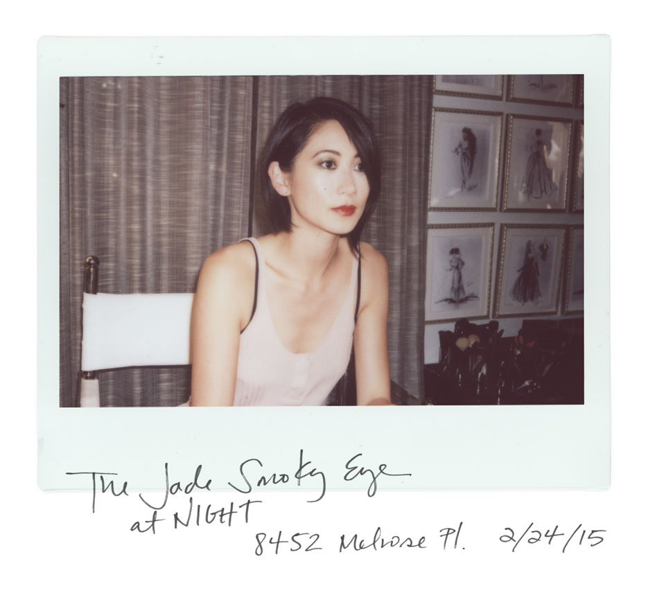 ORIGINAL LOOK: The Jade Smoky Eye by Mary Greenwell  |  #VIOLETGREY, The Industry's Beauty Edit