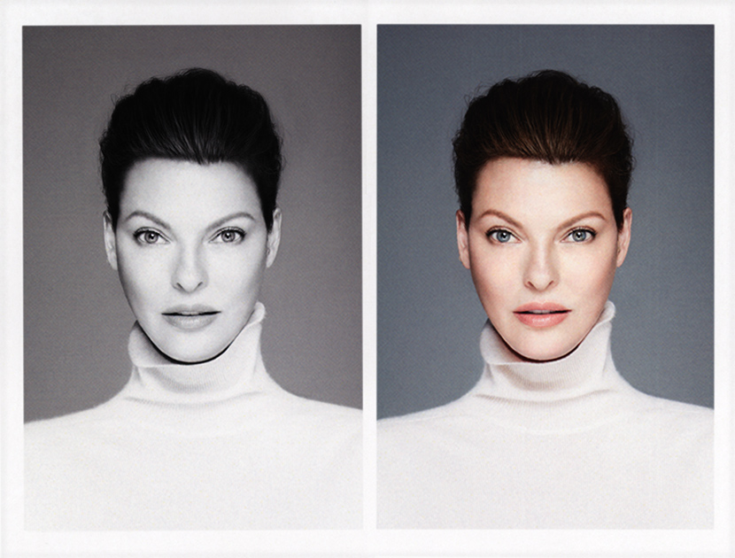 LINDA EVANGELISTA | THE VIOLET FILES