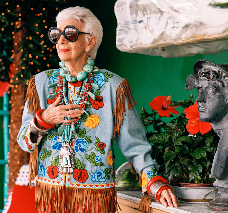 She's So Violet: IRIS APFEL  |  The 93-year-old style icon on eccentric fashion, lasting love and all those bangles  |  #VioletGrey, The Industry's Beauty Edit