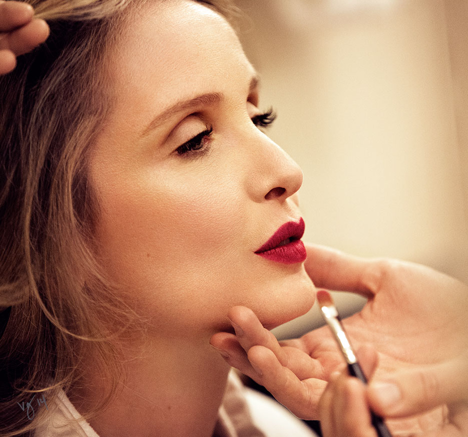 Julie Delpy for #VioletGrey, The Industry's Beauty Edit